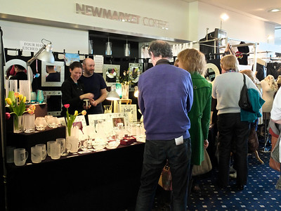 Art and Craft Fair at Newmarket racecourse