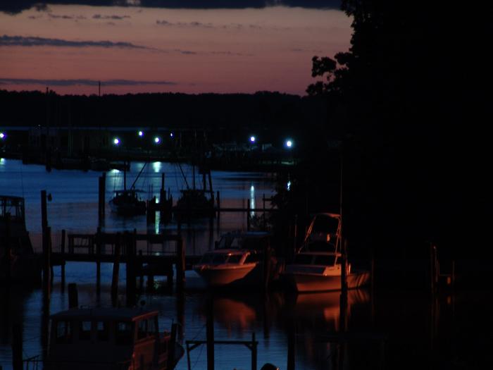 Marina- Rescue, VA<br /> Evening<br /> 06 September 2005