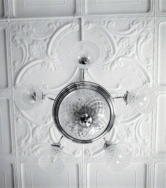 Colonel's House, ceiling detail