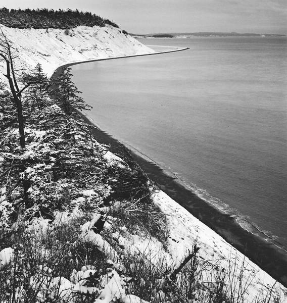 Bluffs in Snow  II