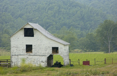 Old Barn in Virginia- Patchwork
