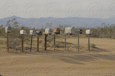Ridgecrest, Mailboxes