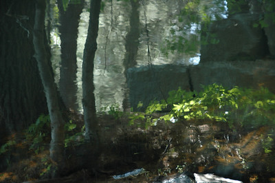 """Reflections in a stream - the original """"watercolor"""""""