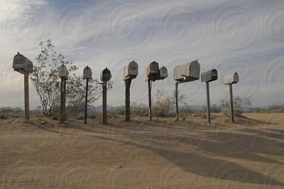 Ridgecrest, CA, Mailboxes