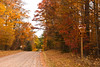 Autumn on Rustic Road 111, Sawyer County, Wisconsin
