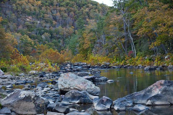 Goshen Pass Virginia in Fall (2)