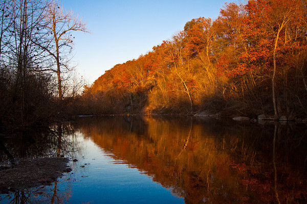 Narrow Passage in the fall