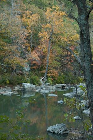 Goshen Pass Virginia Fall 2