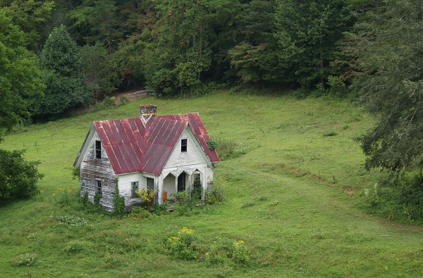 Abandoned House  Smokey Mountains NC
