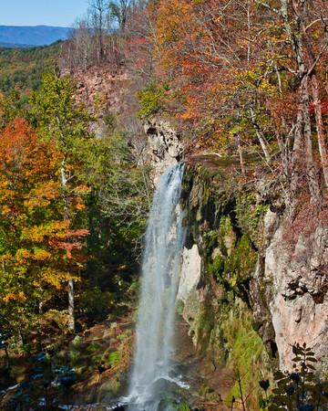 Waterfall, Falling Springs Virginia