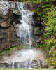 Waterfall along the road, Grandfather Mountain, NC