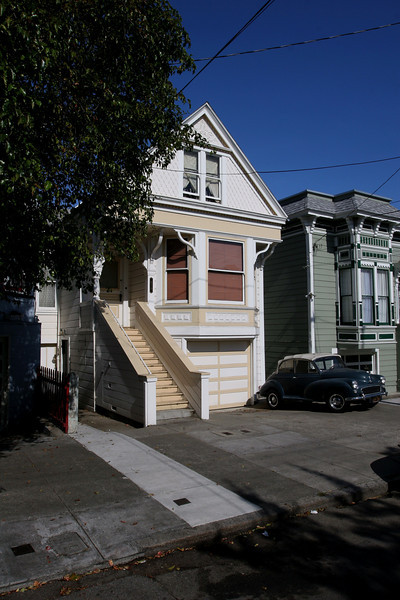 Row houses, San Francisco, California 2009.