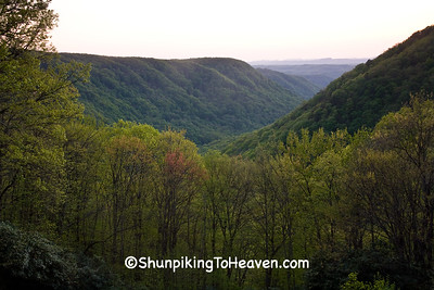 Mountain View at Sunset, Fayette County, West Virginia
