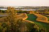 Rolling Farmland in Autumn, Crawford County, Wisconsin