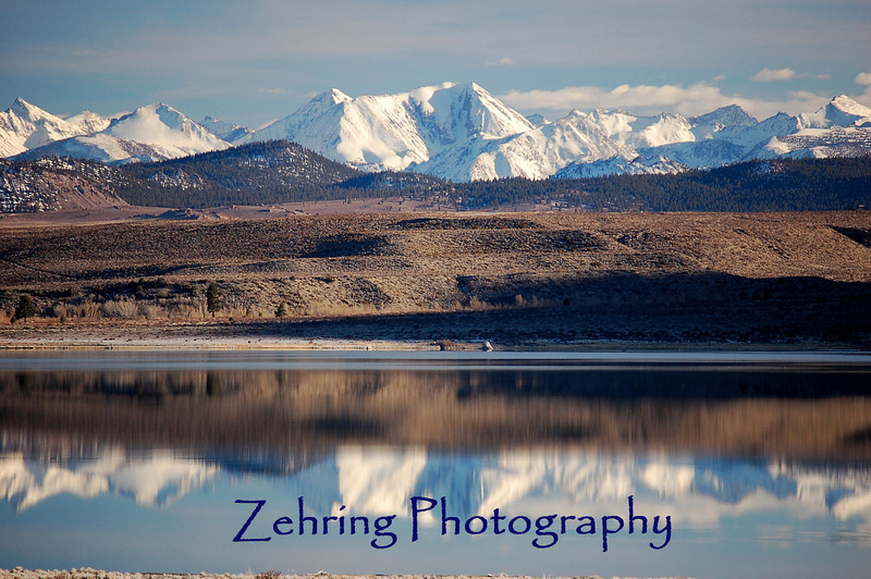 Magnificent backdrop to enhance the perfect reflection on this late afternoon view of Mono Lake.