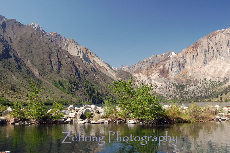 Convict Lake, California, in the Sierra Nevada mountains.