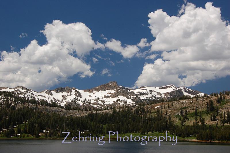 Upper Blue Lakes, CA.