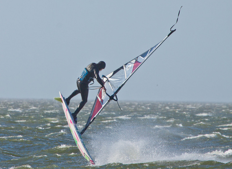 Windsurfing in Hatteras NC