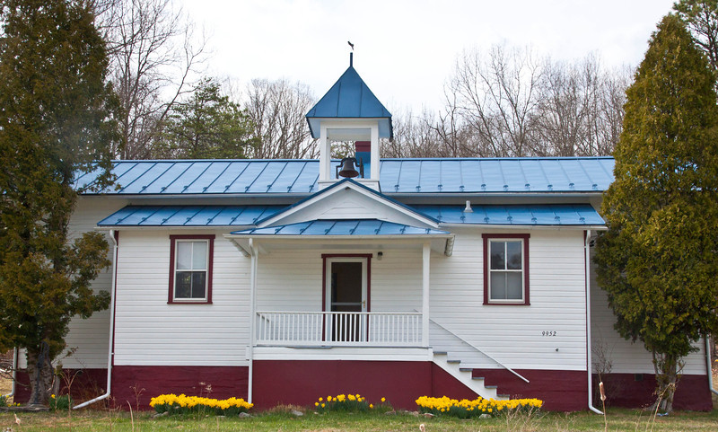 Church in WV in Spring