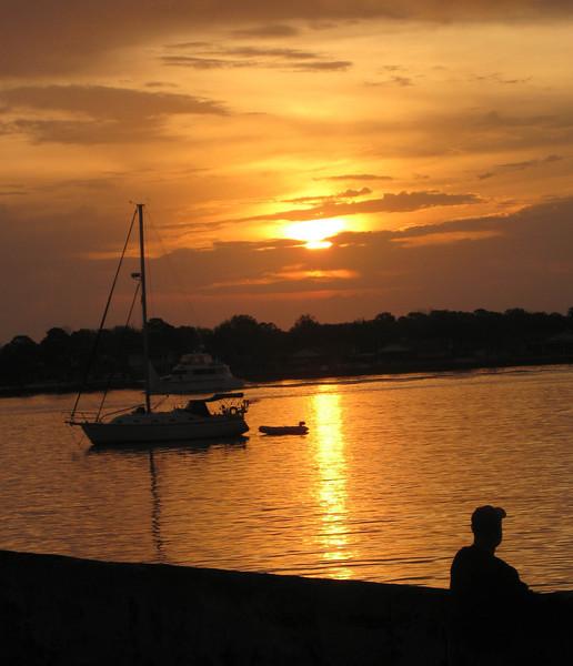 LS 09 St Augustine Florida Sunrise