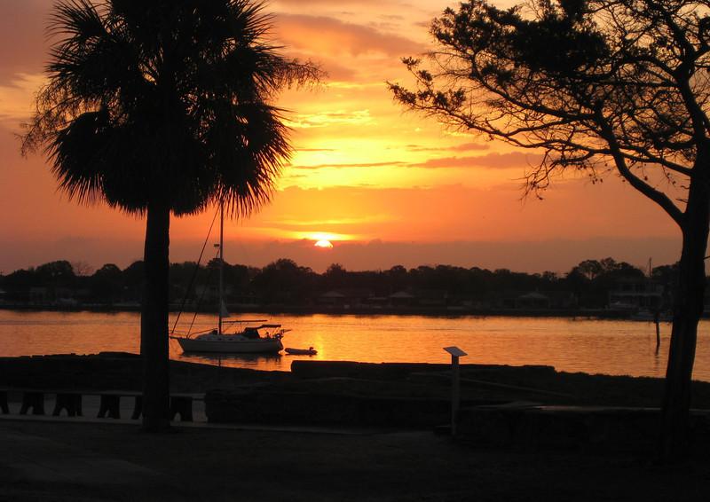 LS 10 St Augustine Florida Sunrise