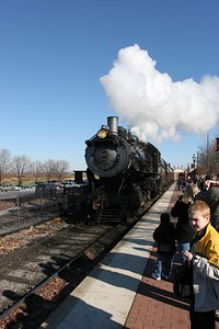 Steam train at Strasburg, Pennsylvania