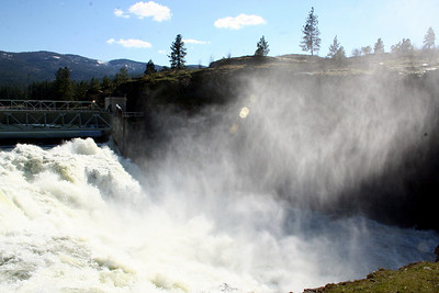 Post Falls Dam April 2011