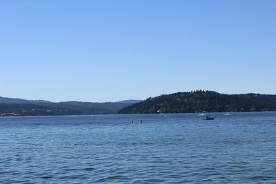 July 2014 Lake Coeur d' Alene