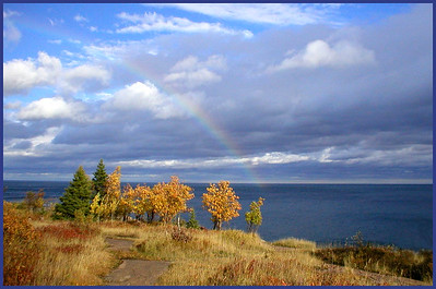SC-H-0007-02 Lake Superior Rainbow  by Scott Campbell