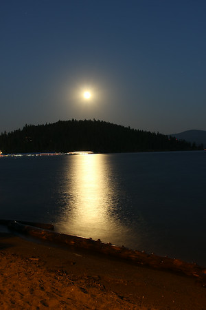 There was a Super Moon on July 12, 2014. Dad & I went down to the beach to take some pictures of it.
