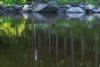 <font size=4><em>Reflection of the lake house</em>