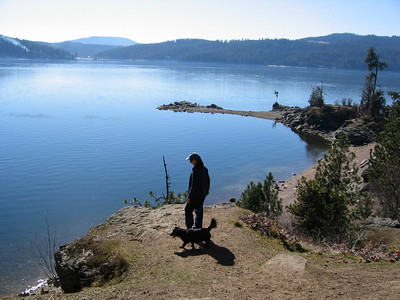 Tubbs Hill, Lake Coeur d' Alene  (That is my Mom & Mitch)
