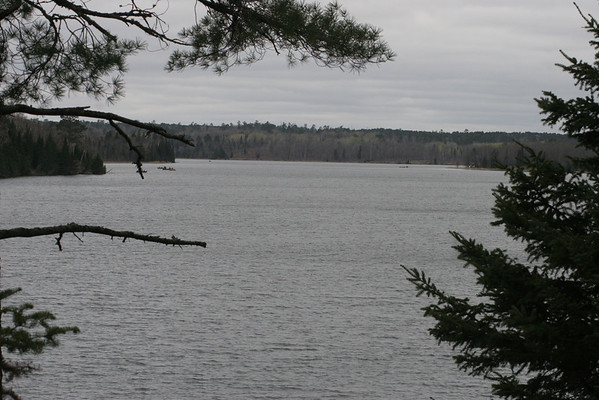 Preachers Cove in Itasca State Park on opening fishing in May 2009.