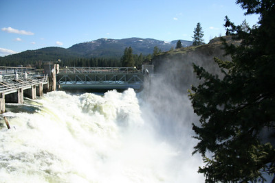 Post Falls Dam 2011