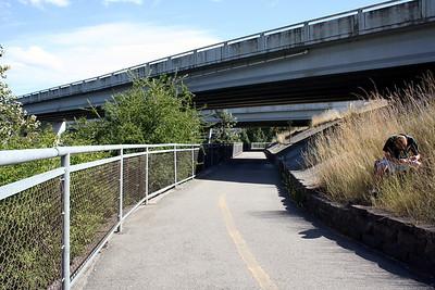 State line of Idaho & Washington. Sept 2010