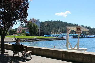 Coeur d' Alene Beach July 2014