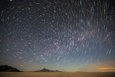 Salt Flats Star Trails