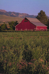 Barn in Cove, Cache County Utah.
