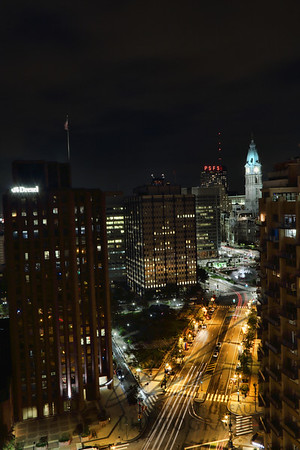 Downtown Philly at Night