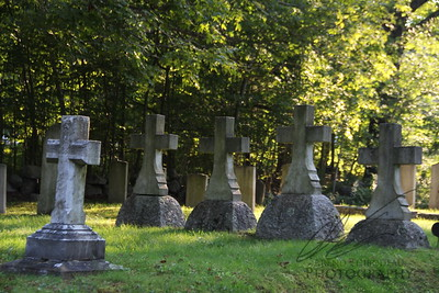 Rural Maine Graveyard