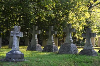 Rural Maine Graveyard