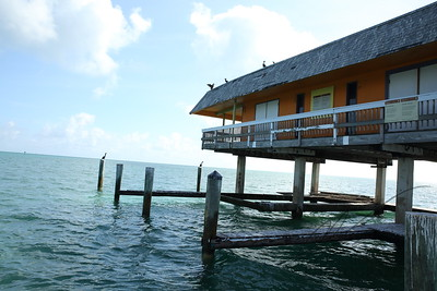 Stiltsville, a village on the sea