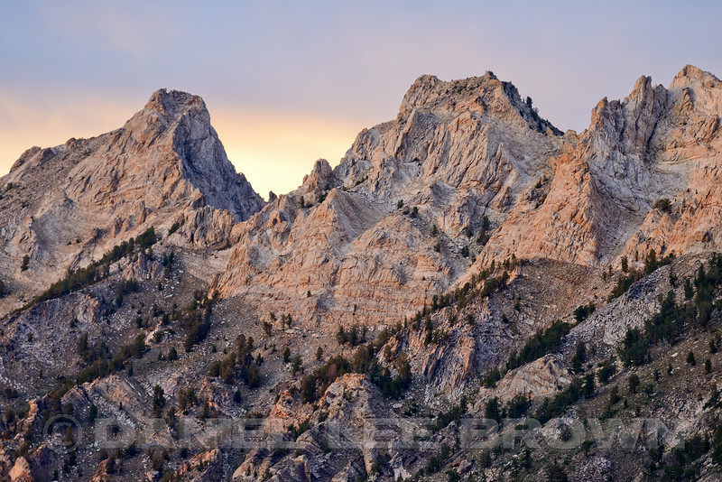 Lamoille Canyon, Elko County, Nevada, 8-18-14.  Slightly cropped image.