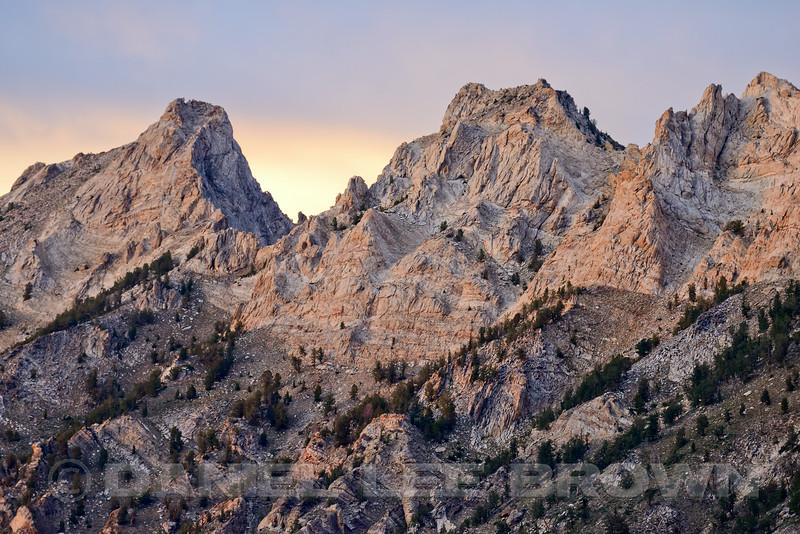 Lamoille Canyon, Elko County, Nevada, 8-18-14.  Slightly cropped image.