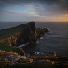 Neist Point light fading