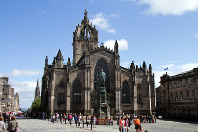 Edinburgh Cathedral on the Royal Mile
