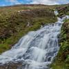 Waterfall towards Coire Fhionn Lochan