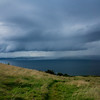 Mull of Kintyre in storm from Thundergay