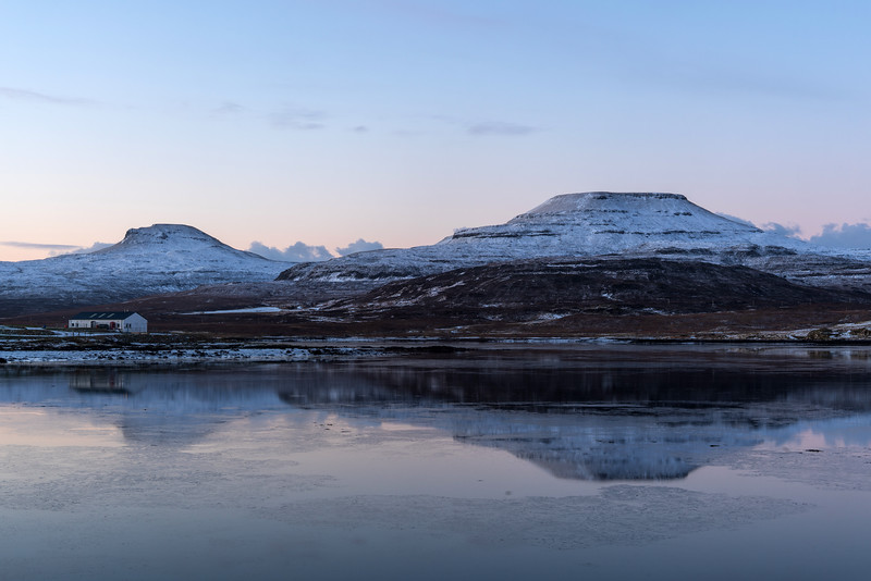 Macleods Tables pre sunrise from Dunvegan