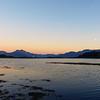 Isleornsay sunset/moonrise